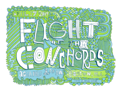 Flight of the Conchords - poster