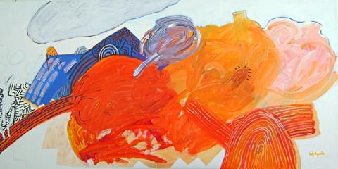 APinturaeosNovosDevaneios,2008-90x180cm